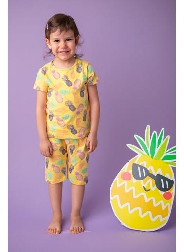 Zeyland Sarı Renkli Ananas Pijama Takımı (1-5yaş) Sarı Renkli Ananas Pijama Takımı (1-5yaş) Sarı